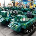 操纵性与趣味性很强的亲子游乐坦克 双人雪地坦克