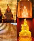 可控灯光琉璃佛像寺庙智能控制万佛墙万佛龛宏缘科技