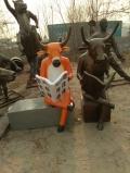 玻璃钢雕塑创意个性火锅店牛肉火锅定制招牌雕塑
