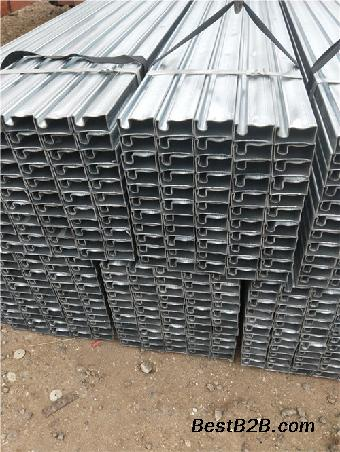 40*40镀锌凹槽管生产厂家厂址