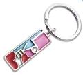 烤漆金属钥匙扣,卡通人物钥匙挂件, 活动礼品制作