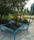 广西河池室外新款儿童小型钢架蹦极的作用