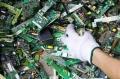 上海张江镇销毁报告浦东区浦兴路街道回收ic芯片