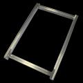 铝合金印花网框35*52cm跑台带槽铝框西柳镇厂家