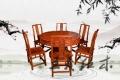 红木餐桌家具产品种类 传统工艺大师设计红木餐桌