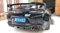 17款雪佛兰Camaro科迈罗改装碳纤维尾翼