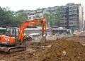 上海静安区挖掘机出租高层建筑物拆迁土方挖掘