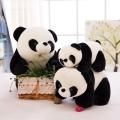 可爱熊猫娃娃公仔国宝毛绒玩具定制公司吉祥物