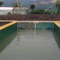 帆布水池定制-水产养殖鱼池图片-篷布蓄水池生产厂家