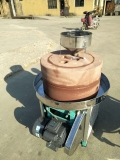 小磨坊生产加工电动石磨机 玉米面粉石磨机