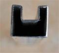 不锈钢凹槽管,导槽管价格40*40