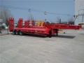 国内新款11米13米2.8米宽低平板半挂车设计价格