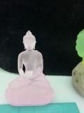 琉璃三宝佛实拍图娑婆三怪琉璃佛像琉璃白度母