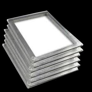 带定位T铁手工印花铝框 丝印网框铝合金网框