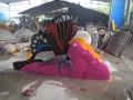 儿童戏水设备施工 儿童蝴蝶滑梯设备定做