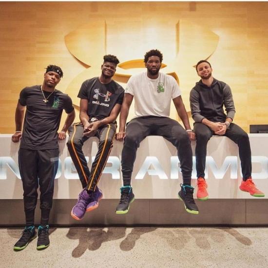 安德玛推HOVR Havoc 2篮球鞋 NBA新锐抢鲜示范