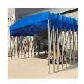 南宁户外移动大型仓库帐篷活动推拉篷伸缩遮阳雨蓬