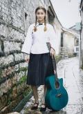木思吉他民谣单板吉他