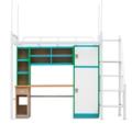 这么多学生宿舍公寓床还是凯威特步梯式宿舍床好用