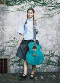 木思吉他图片国产吉他品牌