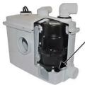 西安马桶污水提升器+地下室卫生间污水提升泵