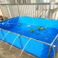 帆布水池加工 帆布鱼池定做 帆布水池直销价格