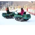 刀兵千万谁掌戈干滑雪场景区雪地坦克车