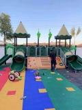 幼儿园户外大型积木碳化炭烧积木 木制大积木玩具构建