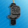 B911-6分管霍尔流量传感器 黄铜流量计