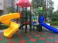 保定小区儿童滑梯结实 儿童滑梯puv地面施工