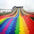 农庄景区新开园 彩虹滑道 提升人气好项目