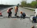 广西高速桥面铺装层破损快速抢修流程