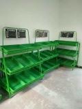大通超市单面背板货架定制