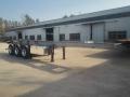 半挂车梁山市场8.5米平板集装箱自卸车现车售价