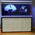 龙鱼首选玻璃鱼缸广州水族箱厂家批发定制超白鱼缸
