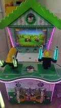 新款丛林探险枪机儿童投币游戏机射击类双枪游戏室内