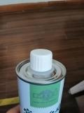 350ML印刷食用亚麻籽油圆形马口铁罐 精美0.2