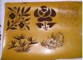 皮革上雕刻图案 北京哪里有给皮革上刻字 皮革印图案