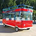 送餐车移动餐车小推车小吃车油条包子早餐车