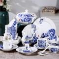 欧式宫廷陶瓷餐具 景德镇陶瓷餐具厂家