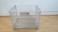 蝴蝶笼仓储笼周转箱折叠笼金属箱铁框铁笼分拣物流框箱