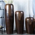 景德镇新中式陶瓷插花瓶摆件现代美式客厅家居装饰瓶