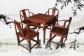大红酸枝茶桌家具优美造型