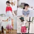 广州中大童装批发市场中性时髦洋气简约童装短袖套装