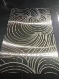 不锈钢屏风镀钛褪花板,压纹板等厂家