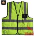 新跃环卫反光背心 道路物流作业反光马甲 户外安全防