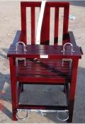 供应审讯椅木质,铁质审讯椅参数