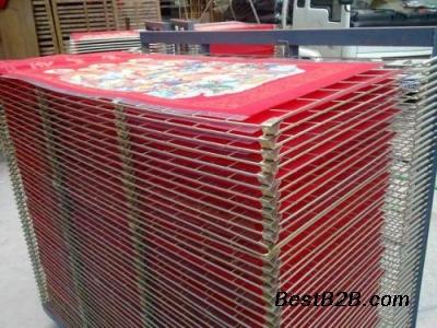 25层50层花纸丝网印刷干燥架千层架