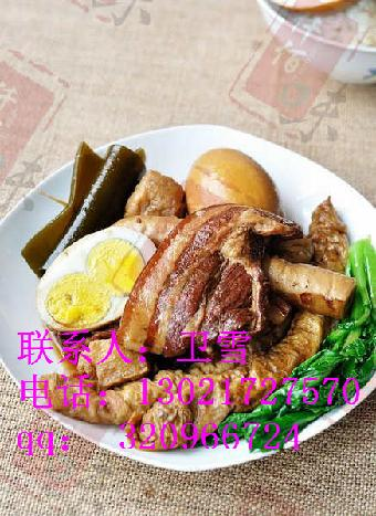 排骨米饭加盟正宗老济宁甏肉干饭做法排骨米饭