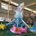 自控鲨鱼厂家现货 自控飞机价格 公园游乐设备
